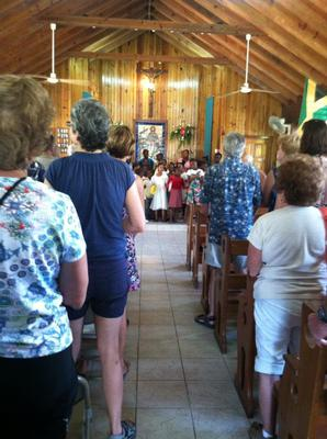 Picture Of Sunday mass in Jamaica!
