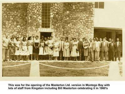 1950s Masterton Opening in Montego Bay