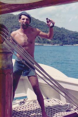Aboard schooner Topaz - My Jamaica Experience