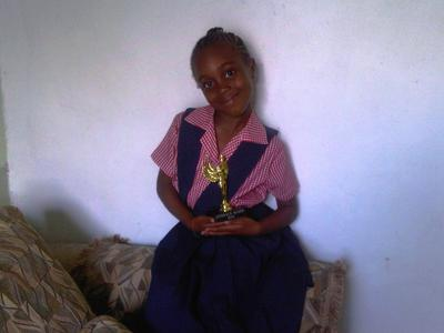 Karena With Literacy Queen Award