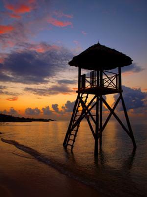 Jamaican Sunset at Iberostar Rose Hall, Montego Bay