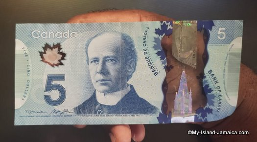 is_canadian_currency_accepted_in_jamaica