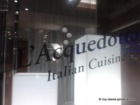 L'Acquedotto Italian Restaurant