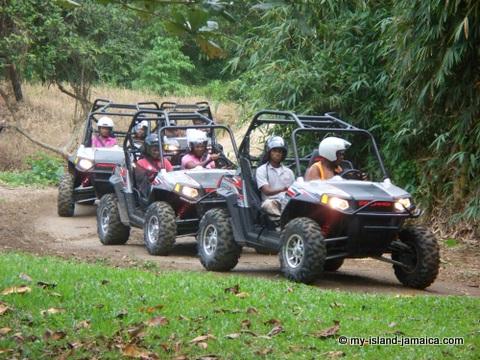 Jamaica Adventure Tours via Buggy