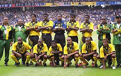 World Cup 1998 Reggae Boyz Team