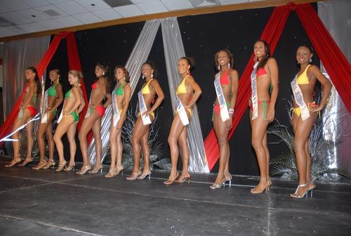 Jamaica-Miss Jamaica Pageant 2006