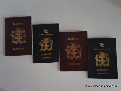 jamaica visa requirements - photo of jamaican passports