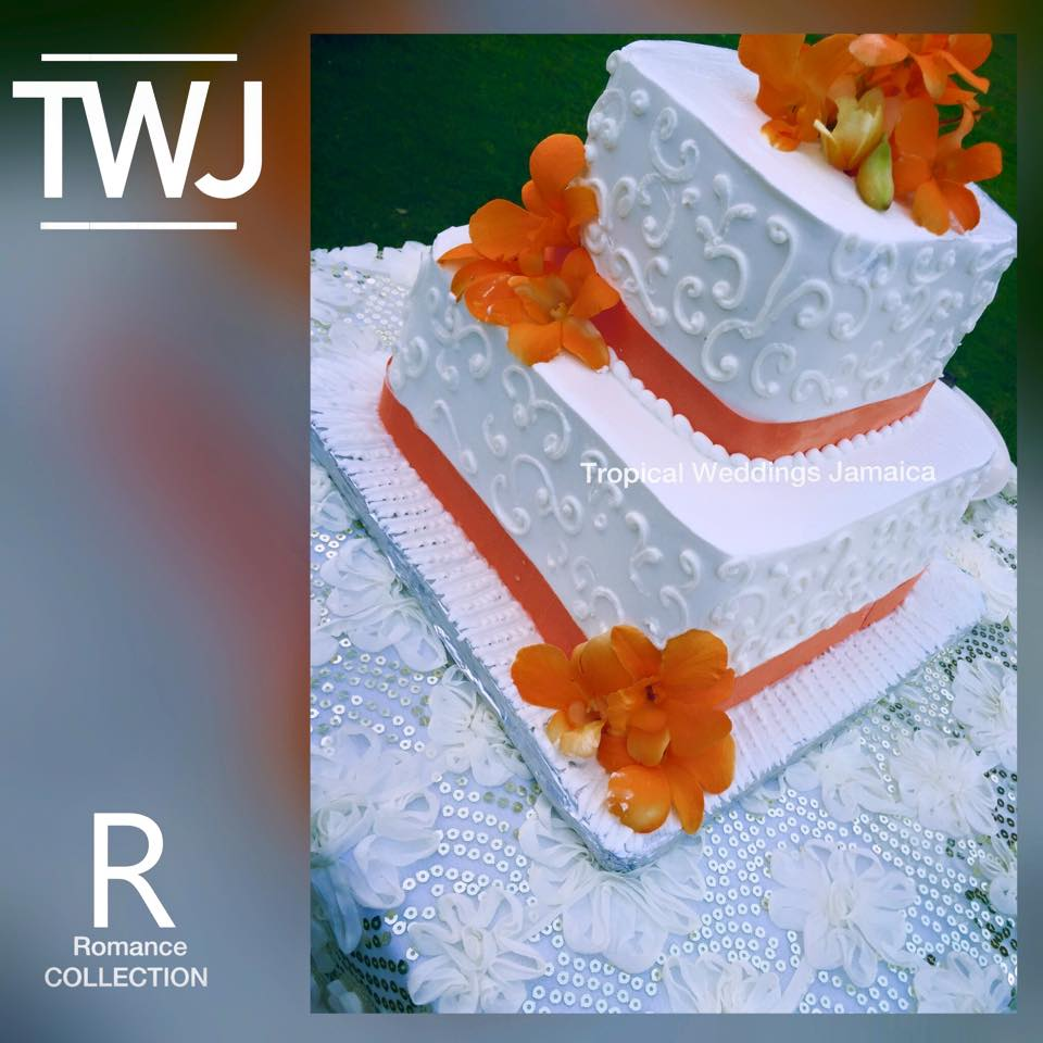 jamaica wedding cake