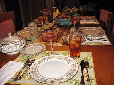 Christmas Dinner -courtesy of flickr