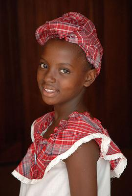 Traditional Jamaican Costume