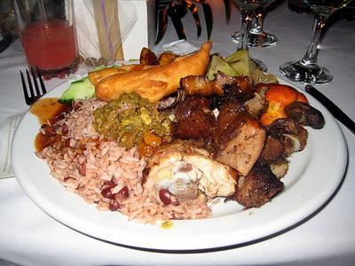 Jamaican Cuisine - A Complete Dinner :-)