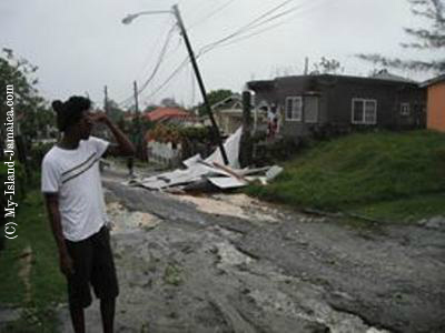 Eye Of Storm - Hurricane Sandy in Jamaica