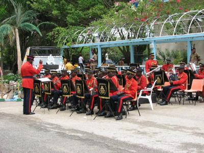 The Jamaican Police Band