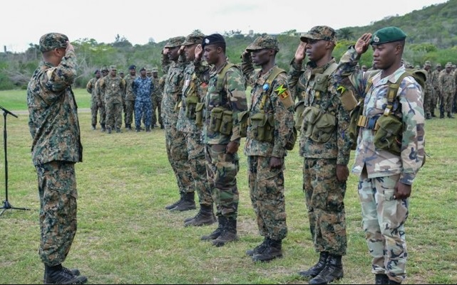 jamaican soldiers