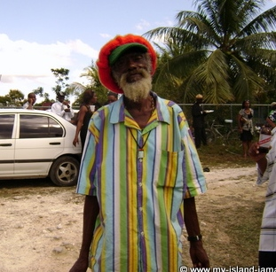 A Jamaican Dreadlocks - A Rasta, Milton Uncle