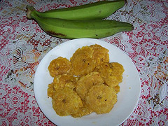 Jamaican Food Fried Plantain
