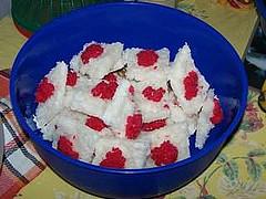 jamaican crater cake or gizzadas