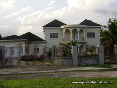 Jamaican houses untainted pictures of typical houses in for Building a house in jamaica