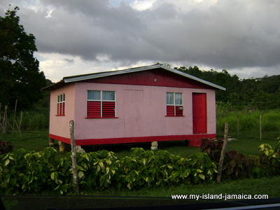 Jamaican Houses - Untainted Pictures Of Typical Houses In Jamaica