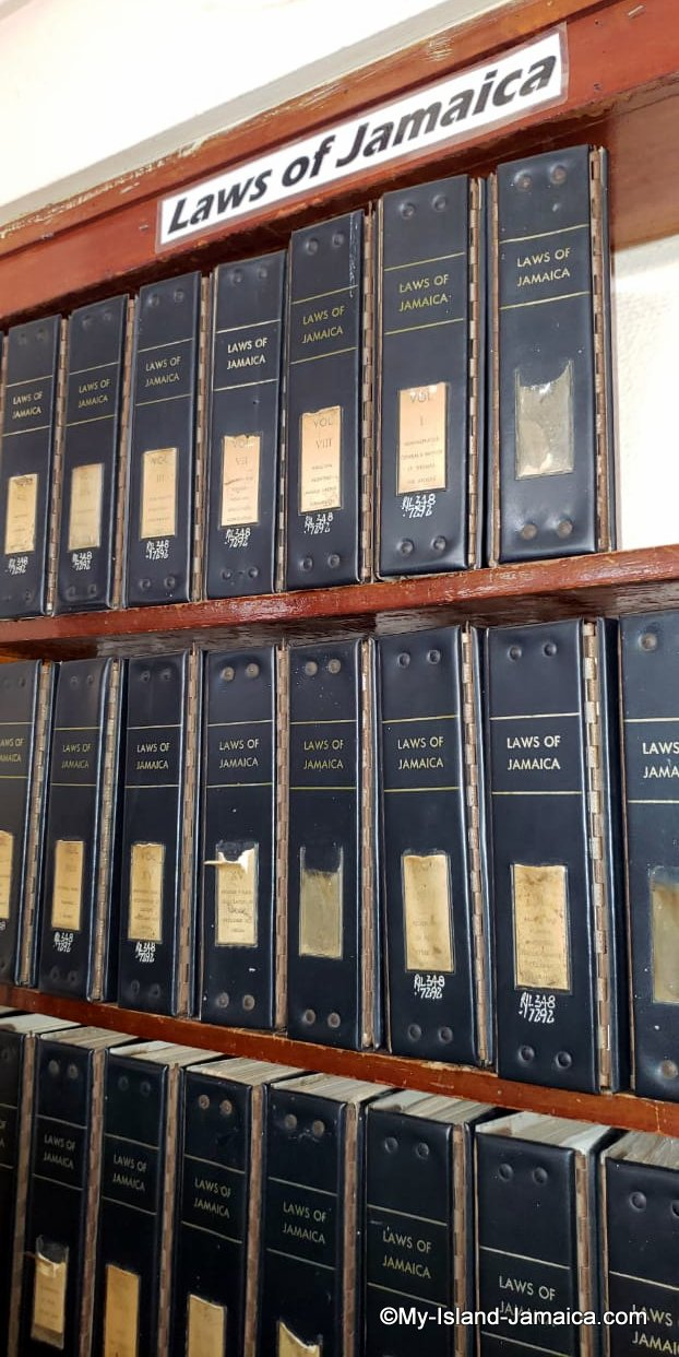 A Listing Of Jamaican Laws - All The Laws Of Jamaica - Online!