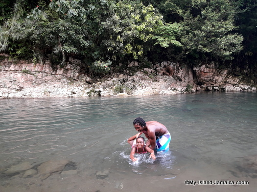 jamaican_maroon_charlestown_visit_bull_bay_river_aliana_gayle