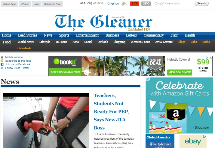 Best Jamaican Newspapers - The Top Newspapers in Jamaica