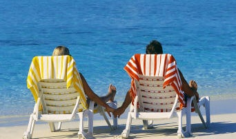 jamaican vacation beach chairs