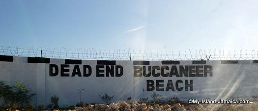 jamaican beach day - buccaneer beach (dead end)