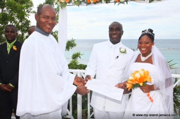 wellesley and omeil wedding ceremony - edgar bennett