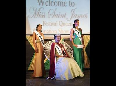 Miss St. James Festival Queen 2012 Winner (Jamaica Gleaner Photo)