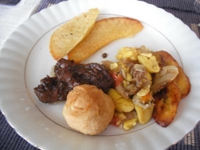 My Jamaican Breakfast
