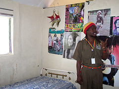 rasta guide shows bob's room at nice miles
