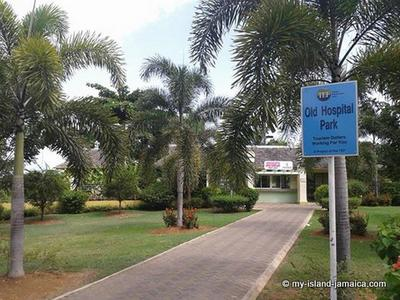 Old Hospital Park, Montego Bay, Jamaica