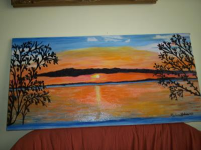 one of my pastel Sun Set