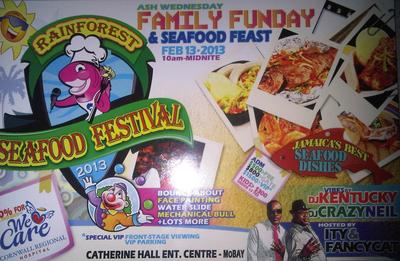 Rainforest Seafood Festival