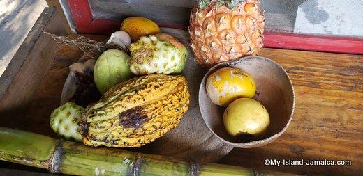 Fresh Fruits From Rastafarian Village