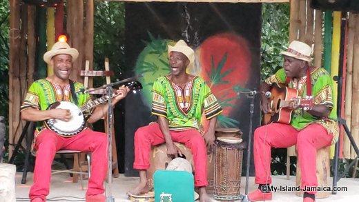 Yardy Vibes Mento Band Plays at Rastafari Indigenous Village