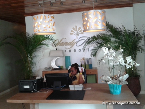 Reception at Sandy Haven Resort