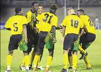Football in Jamaica- Team Dance
