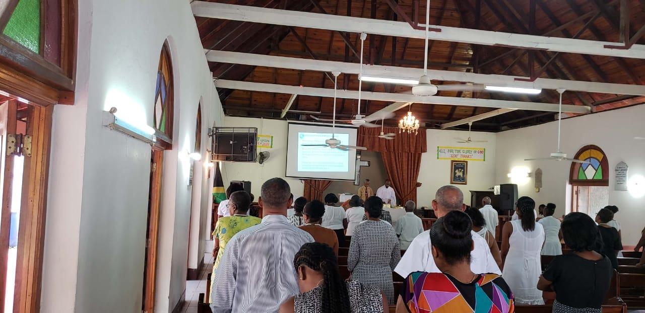 jamaica religions - church service