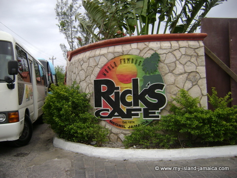 ricks cafe negril jamaica welcome