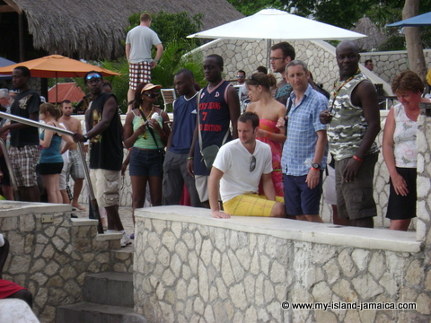 Rick's Cafe Negril- Wacthing Cliff Jumping