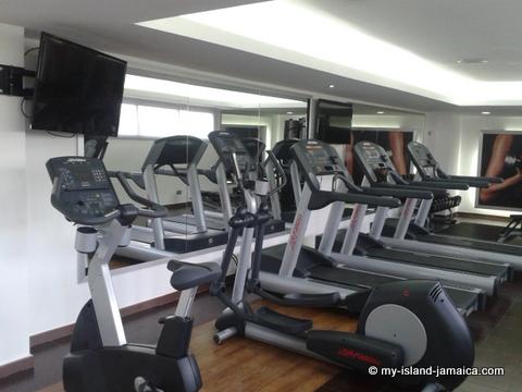 Gym at Riu Palace Jamaica