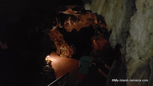 The Cave Tour At Roaring River Jamaica