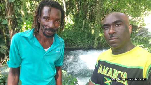 roaring river Jamaica - Robert and wellesley
