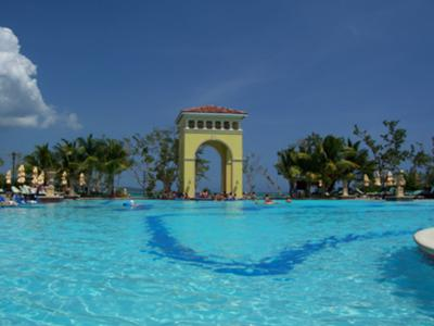 Sandals Whitehouse Swim up Pool Bar