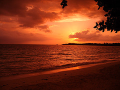 sandals whitehouse jamaica sunset