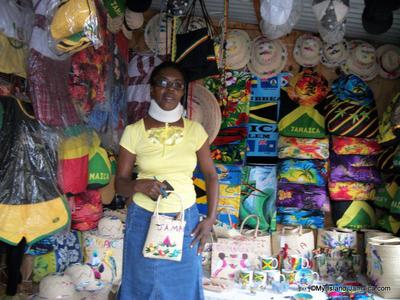 souvenirs in Morant Bay