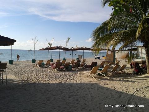 Beach At Sandy Haven Resort