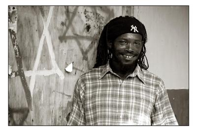 <b>Photo Contest Entry #1</b> <br>Stov, the happy Jamaican